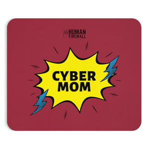 """Cyber Mom"" Custom Mousepad"