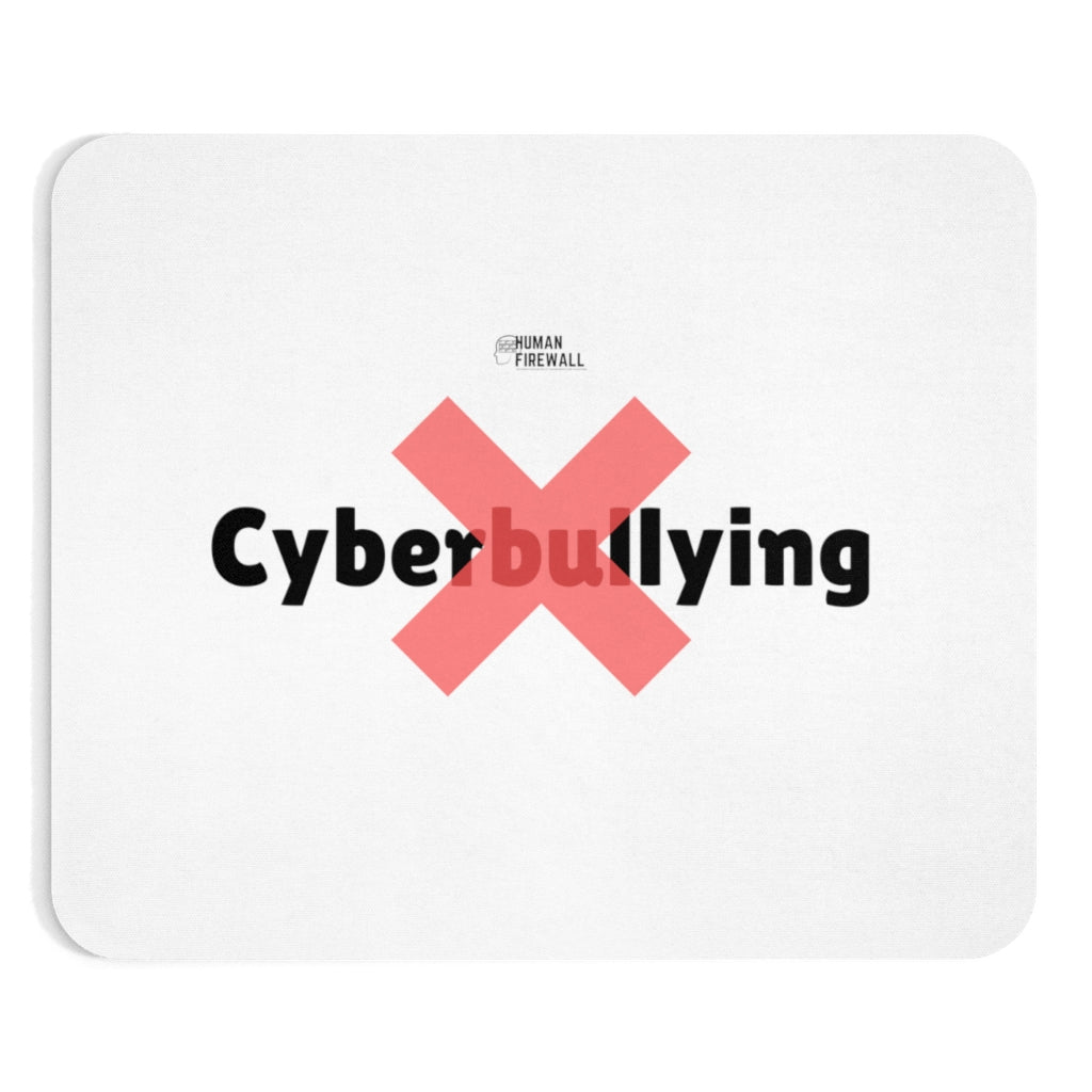 """No Cyberbullying"" Custom Mousepad"