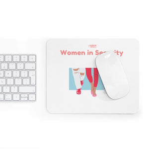 """Women in Security (Together)"" Custom Mousepad"