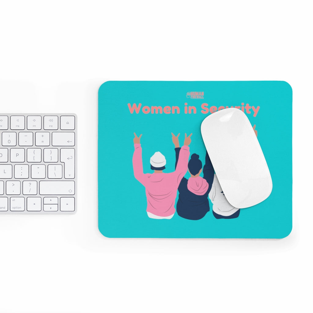 """Women in Security (Peace)"" Custom Mousepad"