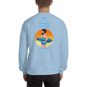 """Watch out for Shoulder Surfer"" Cyber Security Custom Unisex Sweatshirt"