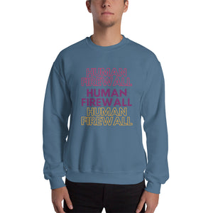 """Human Firewall"" 3 Colours Cyber Security Custom Unisex Sweatshirt"