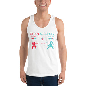 """Red Team vs Blue Team"" Cyber Security Custom Classic Unisex Tank Top"