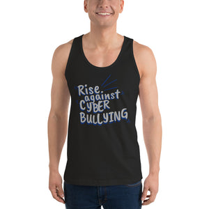 """Rise Against Cyberbullying"" Custom Unisex Classic Tank Top"
