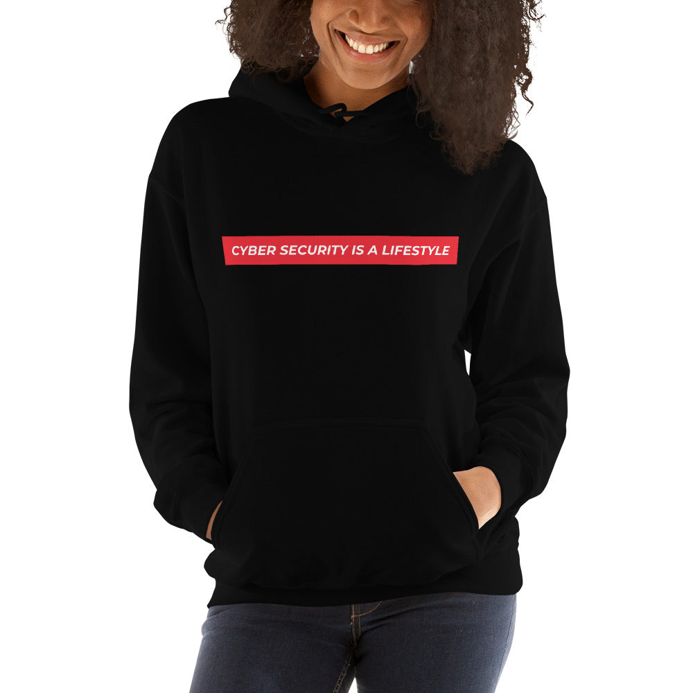 """Cyber Security is a Lifestyle"" Custom Unisex Hoodie"