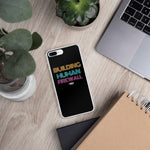 """Building Human Firewall"" Vintage Cyber Security Custom iPhone Case www.buildinghumanfirewall.com"