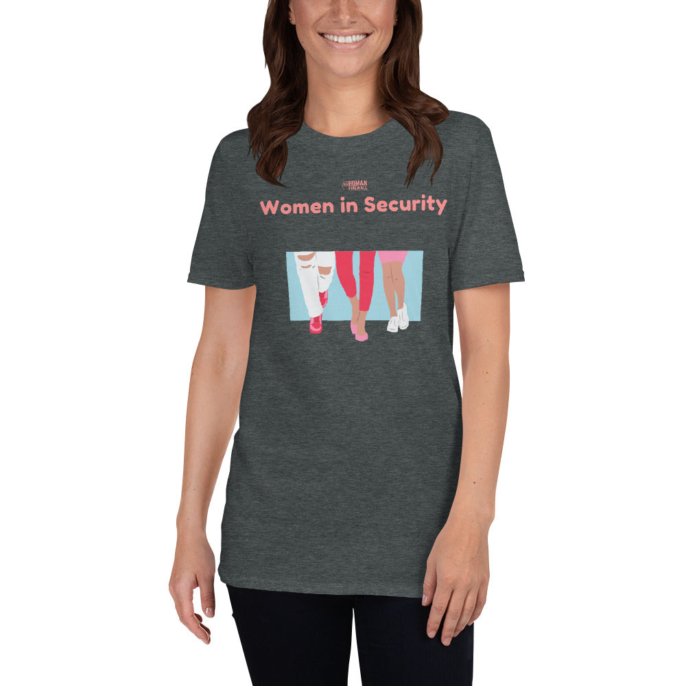 """Women in Security - Together"" Cyber Security Custom Women's T-Shirt"