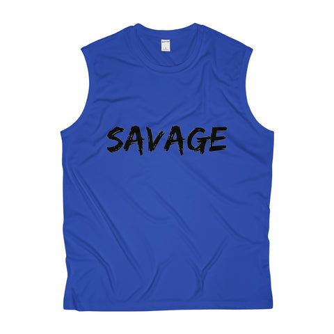 Savage Men's Sleeveless Performance Tee