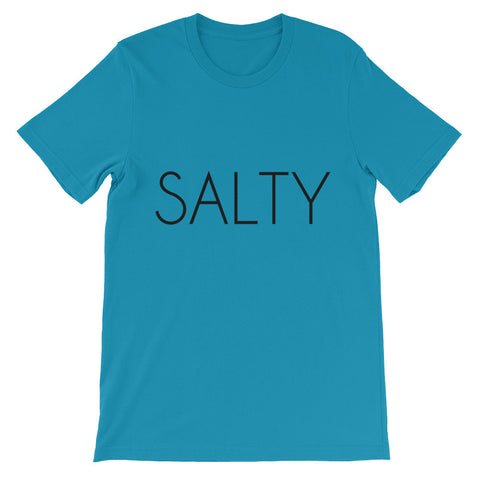 Salty Unisex short sleeve t-shirt