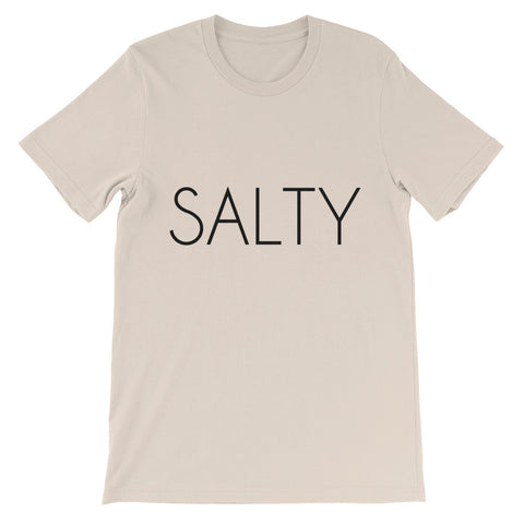 Salty Unisex short sleeve t-shirt - Soft Cream / S - T-Shirt