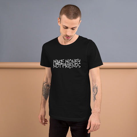 Make Money Short-Sleeve Unisex T-Shirt - Black / S - T-Shirt
