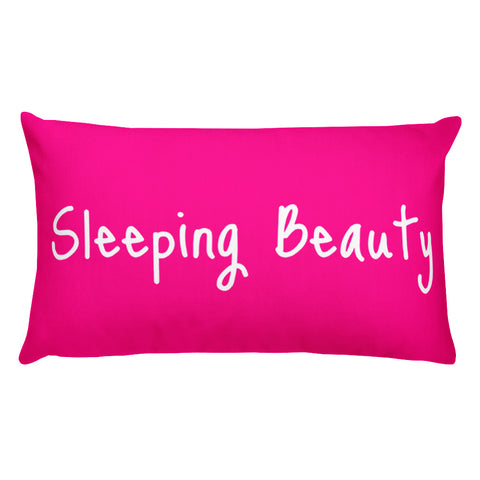 Sleeping Beauty Basic Pillow - Home - Pillows & Throws