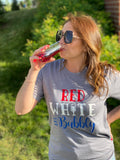 Red, White and Bubbly T-Shirt