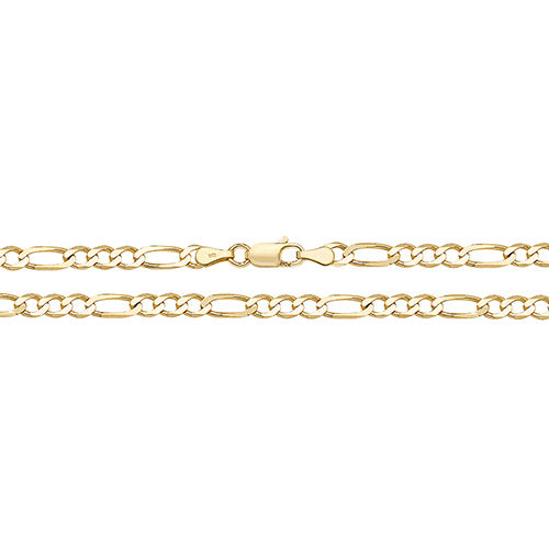 9ct Gold Figaro Chain