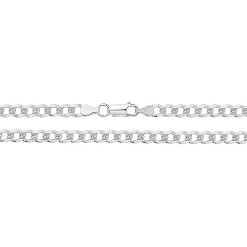 Medium Silver Open Curb Chain