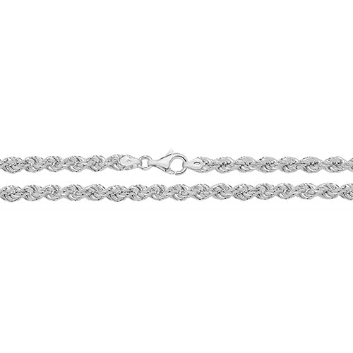 Medium Silver Rope Chain