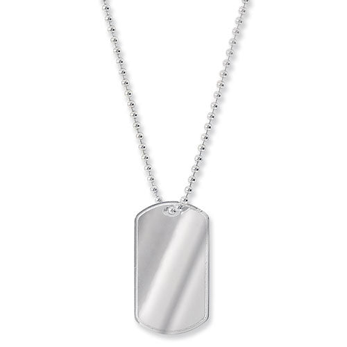 Silver Dogtag Necklace