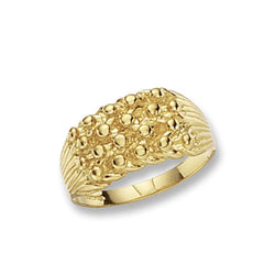 9ct Gold Medium Keeper Ring