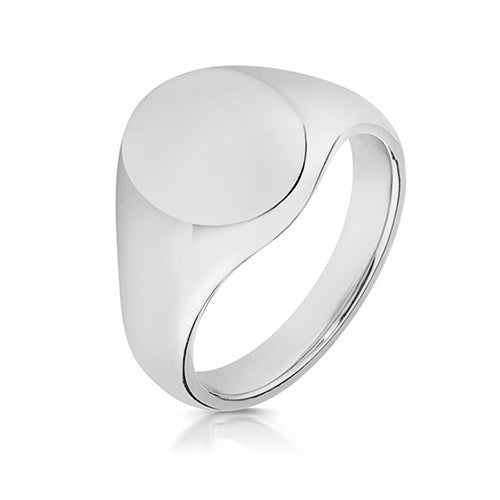 Standard Silver Signet Ring