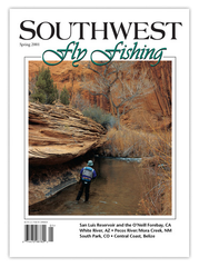 Southwest Fly Fishing Spring 2001 (Print)