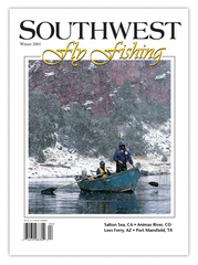 Southwest Fly Fishing Winter 2001 (Print)