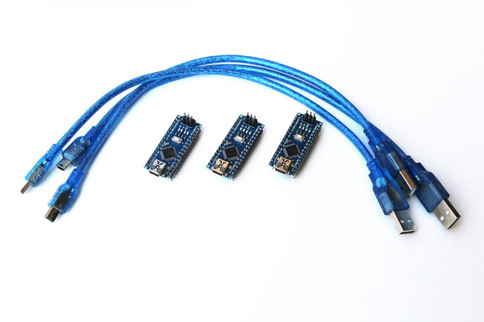 3 x Arduino Nano V3 - CH340G Version Electronics Parts Barnabas Robotics