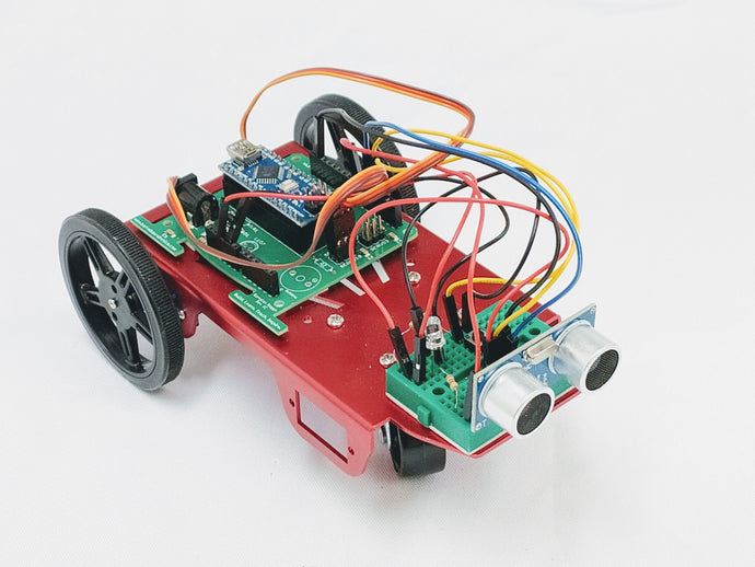 Barnabas Racer: Arduino-Compatible 2WD Servo Motor Car Kit (Ages 11+) Robotics Kits Barnabas Robotics