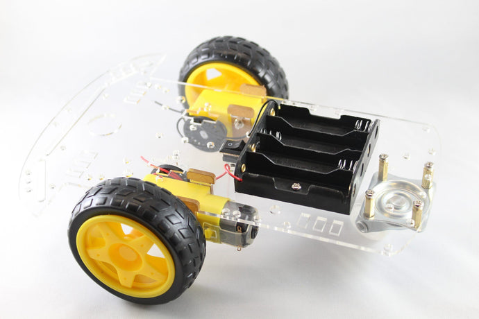 Barnabas Rover (Plastic Chassis Only + 2 x DC Motors Only) Robotics Kits Barnabas Robotics