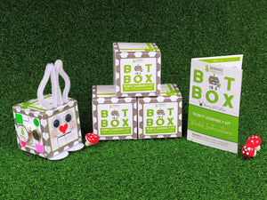 Bot In A Box Craft Robot | Stocking Stuffer | Party Favor | Valentine | Animal | Pack of 4, 8 or 10 | Ages 5+ Robot Party Favors Barnabas Robotics 4-Pack Bunny Bot Edition