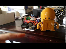 Load and play video in Gallery viewer, barnabas bot build your own robot kit arduino 2 servos 3-d printed robot