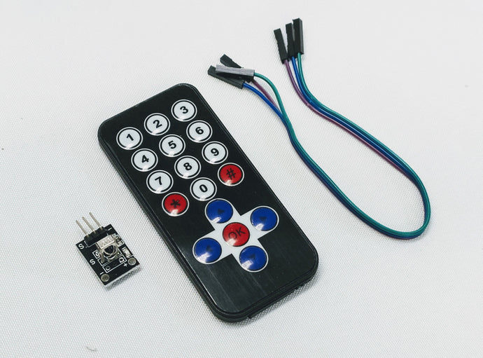 Infrared Remote for Arduino and Raspberry Pi Electronics Parts Barnabas Robotics