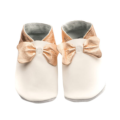 Bows - White/Rose Gold