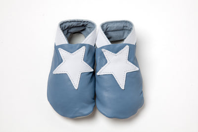 Stars - Pale Blue/White