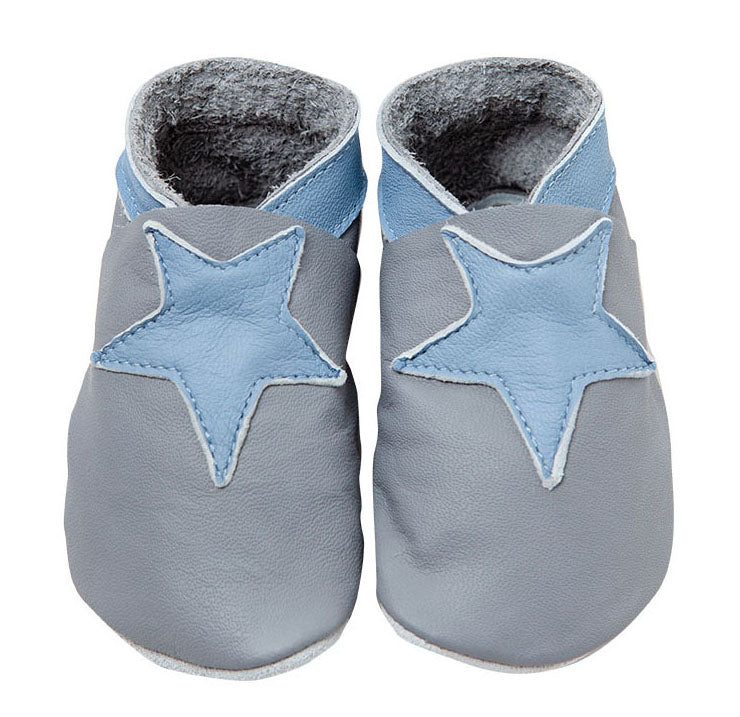 Stars - Grey/Pale Blue