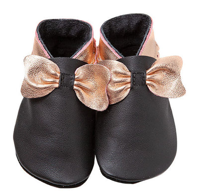 Bows - Black/Rose Gold