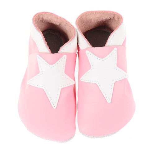 Stars - Pale Pink/White
