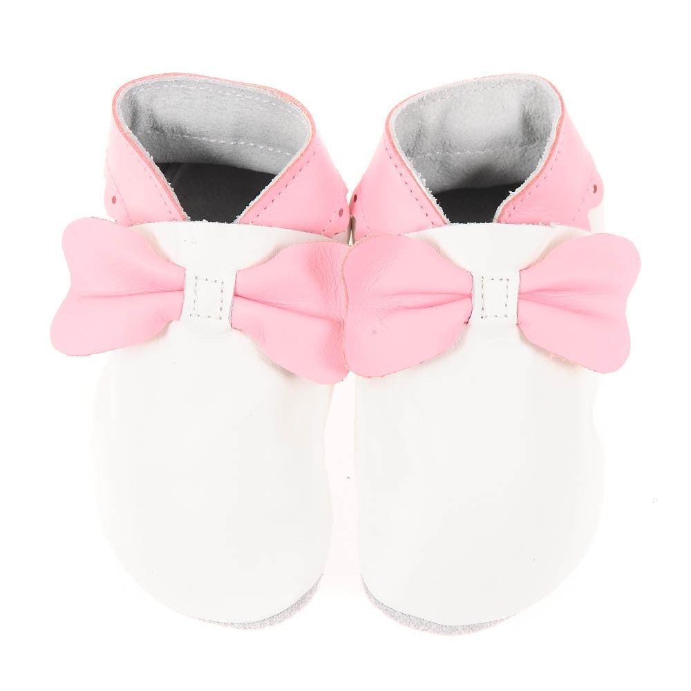 Bows - White/Pale Pink