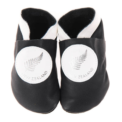 Silver Fern - Black/White