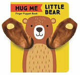 Hug Me Little Bear: Finger Puppet Interactive Board Book