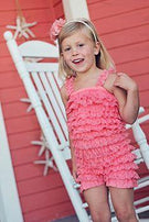 Spring and Summer Lace Petti Romper - Charlarue Kids