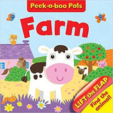 Peek-A-Boo Pals: Lift the Flap Board Book - Farm