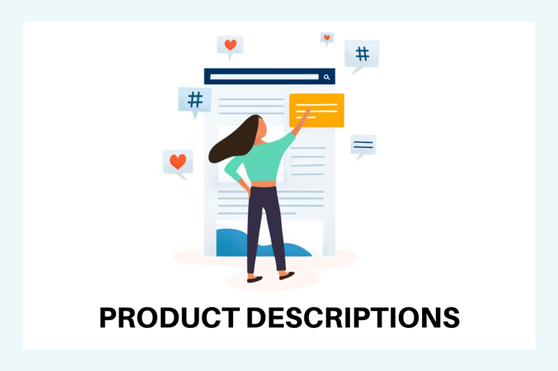Product Descriptions - Dropshipping Team