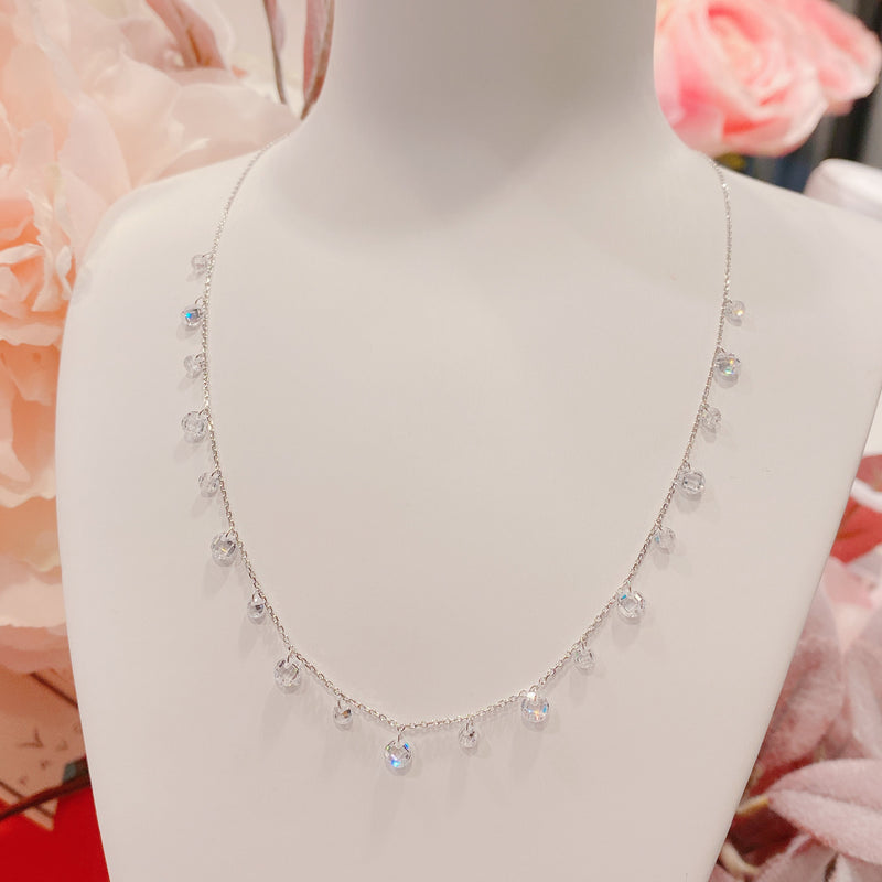 19 Stones Swarovski Crystal Necklace (SWCN005)