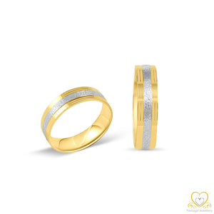 19.2ct Gold Wedding Ring AL015