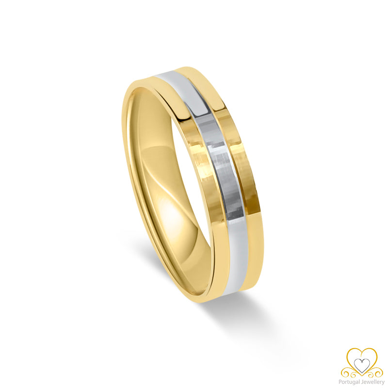 19.2ct Gold Wedding Ring AL029