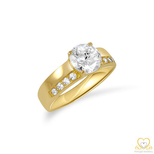 19.2ct Gold Engagement Ring AN006