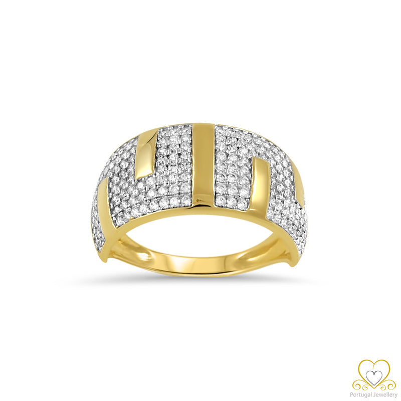 19.2ct Yellow Gold Ring AN01049