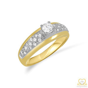 19.2ct Gold Engagement Ring AN023