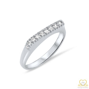 19.2ct White Gold Ring AN054
