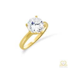Load image into Gallery viewer, 19.2ct Gold Engagement Ring AN088